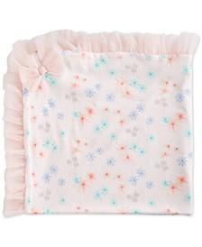 Baby Girls Floral Tulle Blanket, Created for Macy's