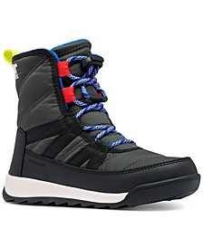 Youth Whitney II Short Lace Boots