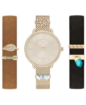 Women's Interchangeable Strap & Charm Watch 34mm