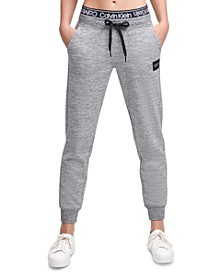 Logo-Waistband Fleece Joggers