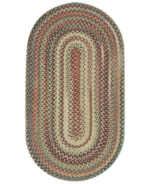 Capel Rugs Sherwood Forest Braided Rug in Wheat 1101437