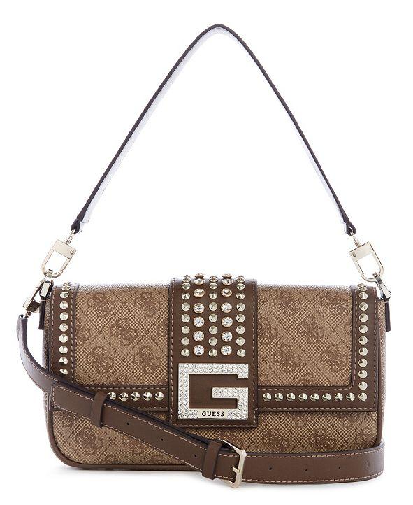 GUESS Logo Bling Shoulder Bag