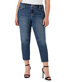 Trendy Plus Size Sweet Mama Skinny Ankle Jeans