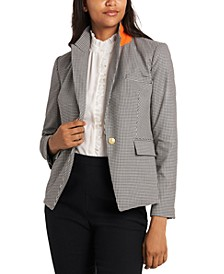 Reid Mini-Check Blazer, Created for Macy's