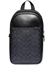 Men's Signature Metropolitan Messenger Bag