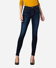 Women's Mid Rise Super Soft Skinny Jeans