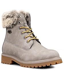 Women's Convoy Fur Classic Chukka Regular Fashion Boot