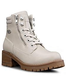 Women's Flirt Hi Zip Classic Chukka Regular Fashion Boot