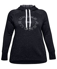 Plus Size Logo Graphic Hoodie