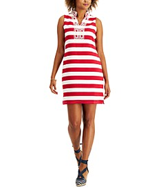 Petite Ottoman Stripe Dress, Created for Macy's