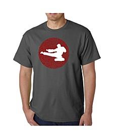 Men's Types of Martial Word Art T-Shirt