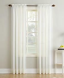 "Erica Rod Pocket Curtain Panel, 51"" x 108"""