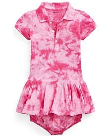 Ralph Lauren Baby Girls Tie-Dye Dress and Bloomer