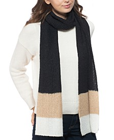 Rib Striped Muffler Scarf, Created for Macy's