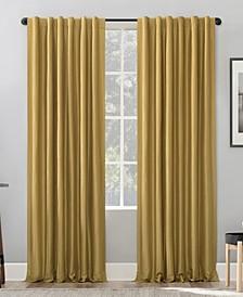 "Evelina Back Tab Curtain Panel, 50"" x 63"""