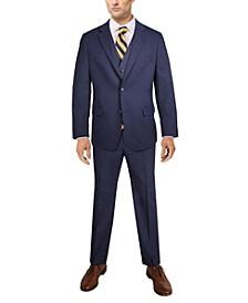 Men's Classic-Fit Solid Stretch Suit Separates