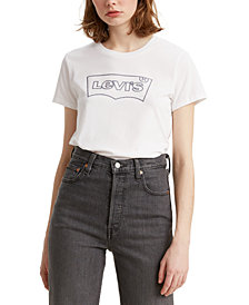 Levi's® The Perfect Logo Cotton T-Shirt
