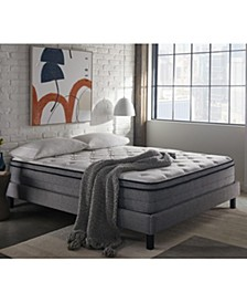 "SleepInc 12"" Cushion Firm Hybrid Euro Top Mattress- King"