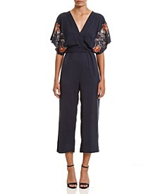 Women's Embroidered Jumpsuit