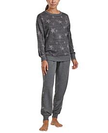 Women's Printed Loungewear 2pc Set