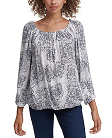 Flowy Boatneck Top