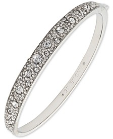 Scattered Crystal Bangle Bracelet