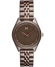 Women's Rise Mini Two-Tone Stainless Steel Bracelet Watch 30mm