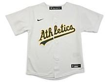 Oakland Athletics Kids Official Blank Jersey