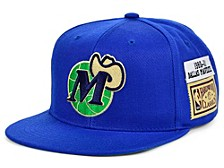 Dallas Mavericks Hardwood Classic Jockey Snapback Cap