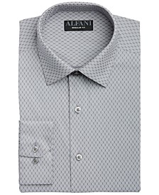 Men's Classic-Fit AlfaTech Honeycomb Shirt, Created for Macy's