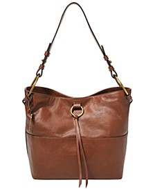 Women's Ada Leather Bucket Bag