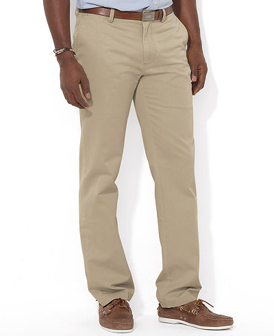 Polo Ralph Lauren Men's Big and Tall Pants, Suffield Classic-Fit ...