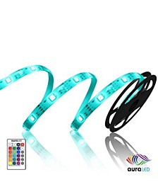Aura LED Color-Changing Strip Lights w/ Remote