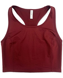 Long-Line Low-Impact Sports Bra, Created for Macy's