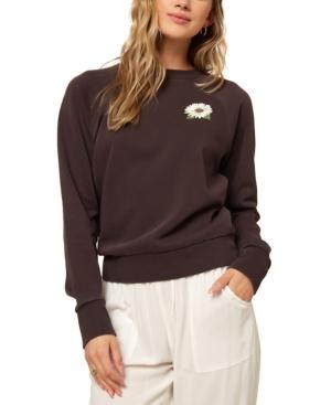 O'neill Juniors' Mavericks Fleece Sweatshirt In Brown