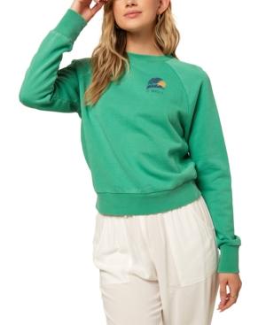 O'neill Juniors' Mavericks Fleece Sweatshirt In Green