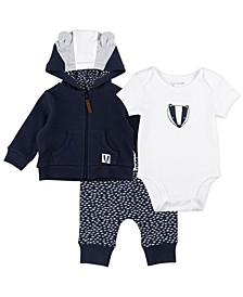 Baby Boy 3-Piece Jacket Set