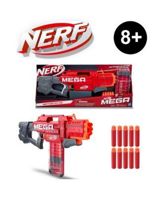 Nerf Mega Motostryke Motorized 10-Dart Blaster