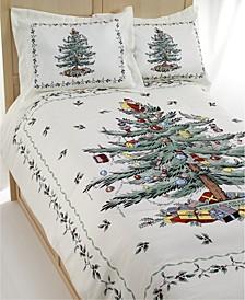 Christmas Tree King 3 Piece Comforter Set
