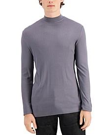 INC Men's Liam Mock-Neck Turtleneck Shirt, Created for Macy's