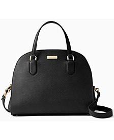 Laurel Way Leather Reiley Satchel