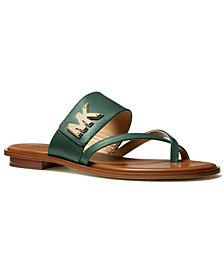 Michael Michael Kors Sidney Flat Sandals