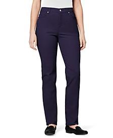 Amanda Straight-Leg Jeans in Petite & Petite Short