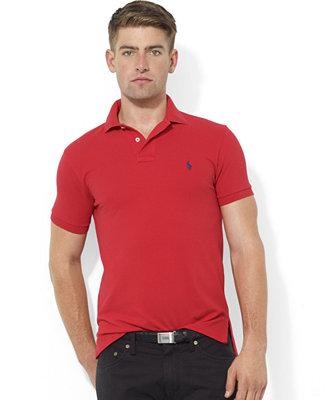 Polo Ralph Lauren Men S Core Polo Shirts Custom Fit Mesh