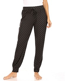 Women's Relaxed Fit Jogger with Drawstring