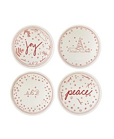 """Crafted By Royal Doulton® Holiday Accent Bowl 5.5"""" Set/4"""