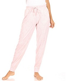 Women's Relaxed Fit Loungewear Jogger with Drawstring