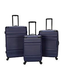 Azure Lite 3-Pc. Hardside Luggage Set