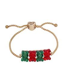 Festive Gummy Bear Slider Bracelet