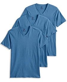 Men's 3-Pk. V-Neck T-Shirts